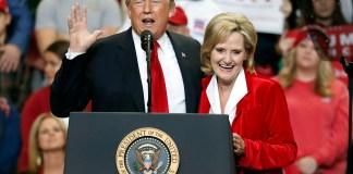 Cindy Hyde-Smith, Donald Trump