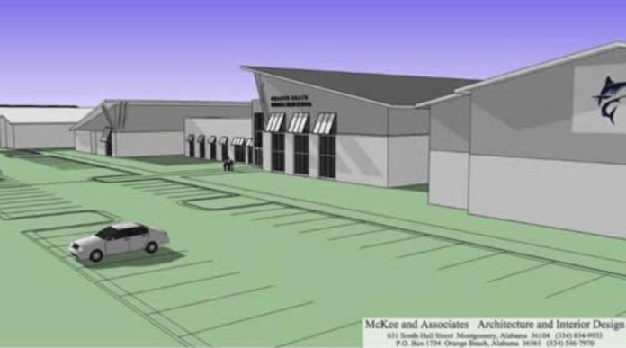 Proposed Orange Beach Middle School/High School