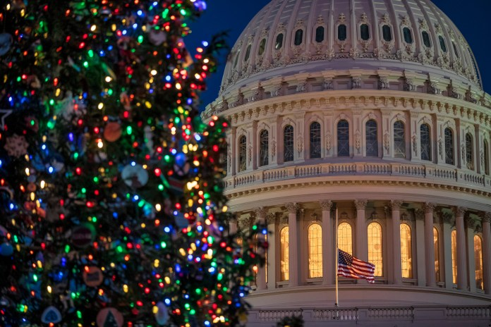 DC Capitol Christmas