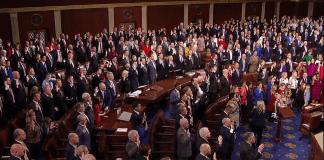 116th Congress swearing in