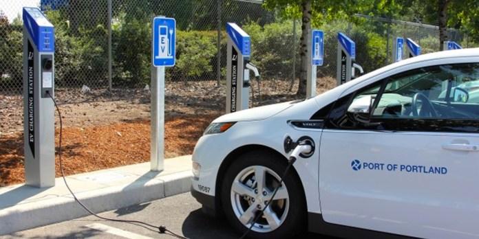 car charging station
