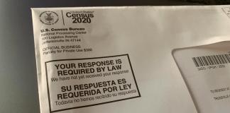 Census 2020 letter