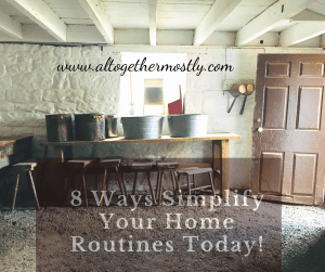 Simple Home Routines