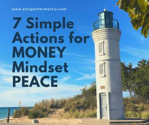 Money Mindset Peace