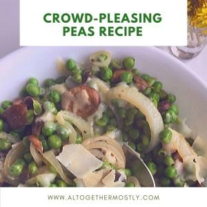 Crowd-pleasing Peas Recipe