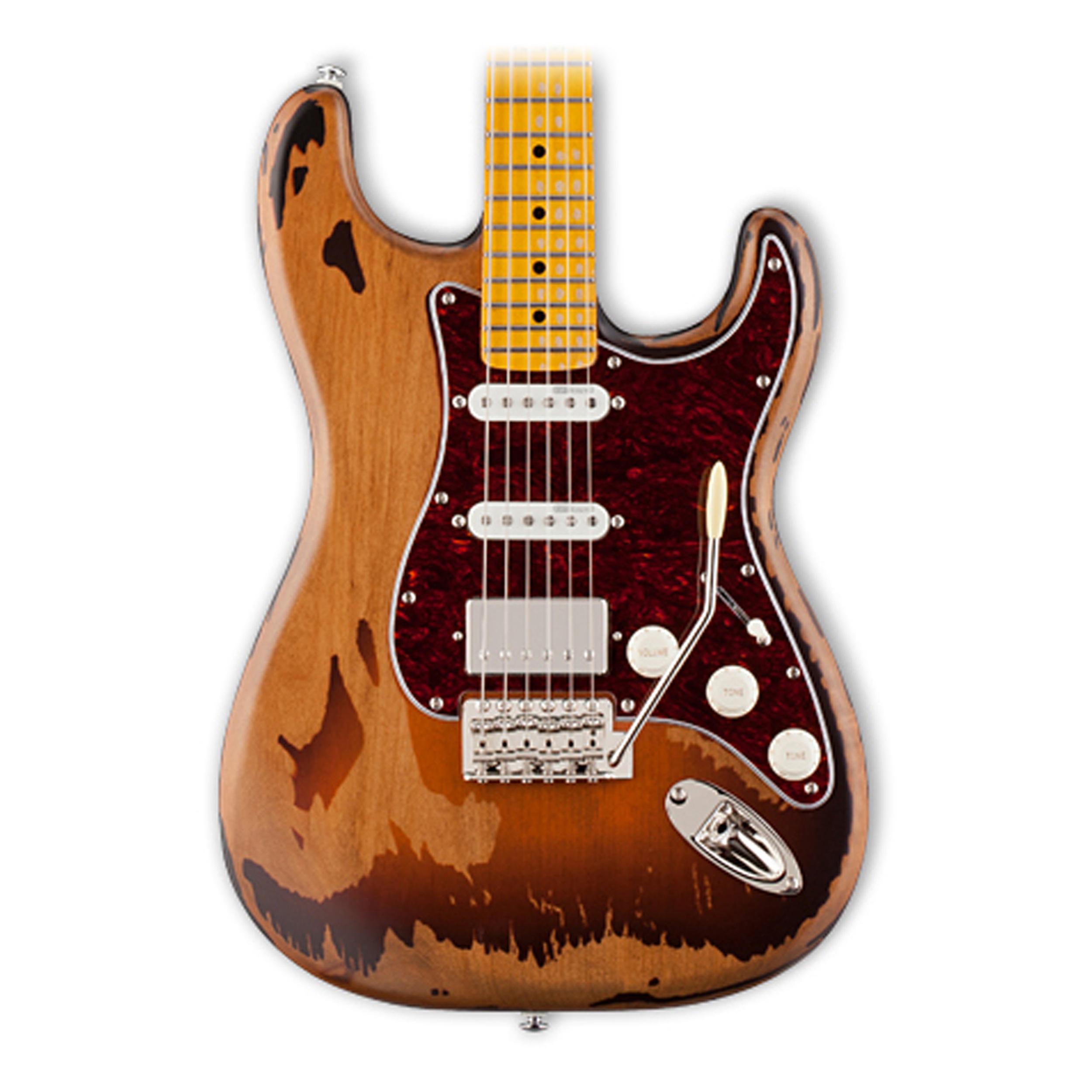 Esp Ltd Gl256 George Lynch Signature Distressed Guitar I