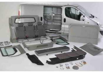 Ved at ombygge sin varebil til mandskabsvogn med et ombygningskit, kan du få en ekstra halv meter gulvlængde