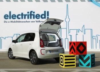 VW e-load-up er den tunge transports forlængede arm, selv om den svækkes af en beskeden lasteevne på 306 kg