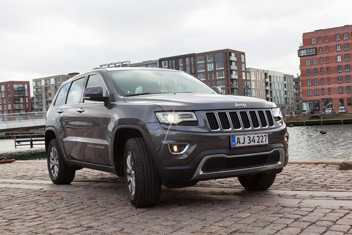 Grand Cherokee baner vejen for Jeep i Danmark, som indtil videre har slået sig ned med forhandlere i Fredericia og Nærum