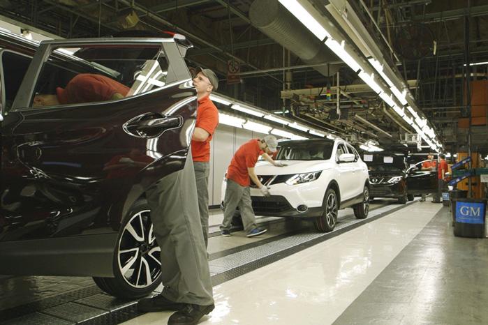 Produktionen af den næste generation af Nissan Qashqai er begyndt på fabrikken i Sunderland