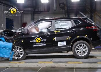 Aldrig før har Euro NCAP smadret et bil så grundigt - og Nissan Qashqai bestod