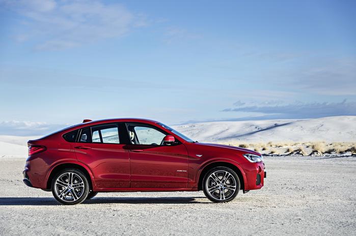 Monstrøs, dynamisk, rummelig og indbydende på samme tid. X4 ligner BMW's hidtil bedste X