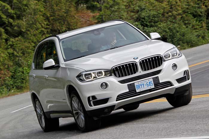 BMW X5 er en typisk SUV, som Michelin fremover dækker op med Latitude Sport 3.