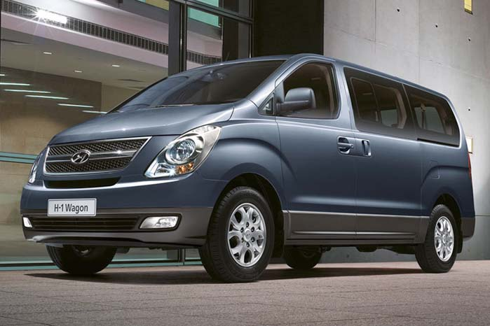 Kassevogne og minibusser i to motor- og to udstyrsvarianter udgør Hyundais nuværende udvalg af regulære varebiler, hvortil kommer personbil-baserede van-udgaver som f.eks. i30 og Santa Fe.
