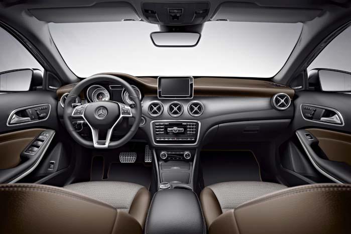 Interiøret i udstyrsversionen GLA Edition.