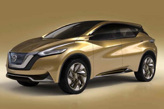 Nissan Resonance-konceptet fra sidste år og forløber for den nye Murano.