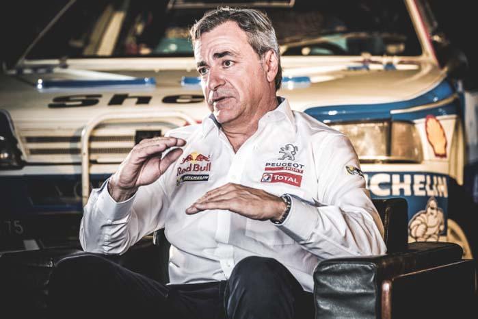 Carlos Sainz - dobbelt VM-vinder i rally og Dakar-vinder for VW Motorsport i Amarok i 2010.