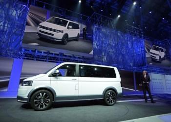 Volkswagen har netop præsenteret den nye terrængående udgave af T5 med seriøse terrænegenskaber