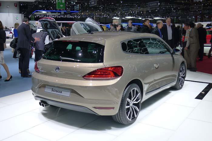Godt nyt til krævende varebilkøbere: VW Scirocco er blevet faceliftet.