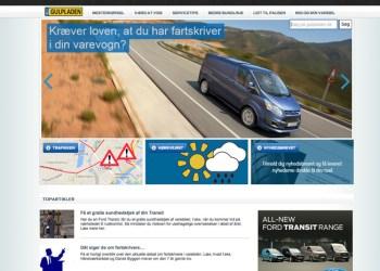 Gulpladen.dk giver gode råd og tips til professionelle varebilsbrugere med udgangspunkt i Fords egne produkter