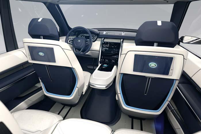 Videokommunikation mellem passagererne via indbyggede monitorer i sæderne.