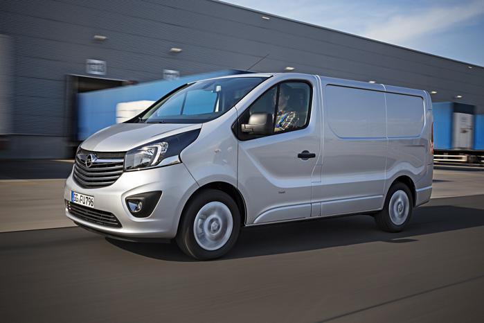 Renault Trafic og Opel Vivaro bygges på samme samlebånd. Kun fronterne er forskellige