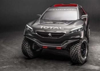 Vi kender Peugeot 2008 som varebil, men her er den som rallymonster uden plads til bare enkelt pizzabakke.