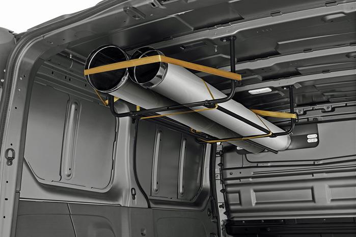 Meget nyt udstyr er tilgængeligt til den nye Renault Trafic og Opel Vivaro