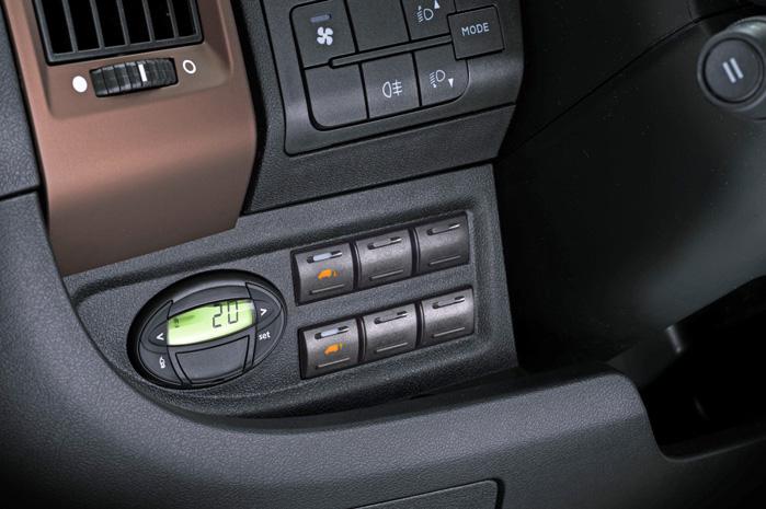Fiat indfører Webastovarmer med timer som standard. Det er endnu ikke med i den franske del af planen hos PSA Peugeot & Citroen, der kommer med Boxer og Jumper senere