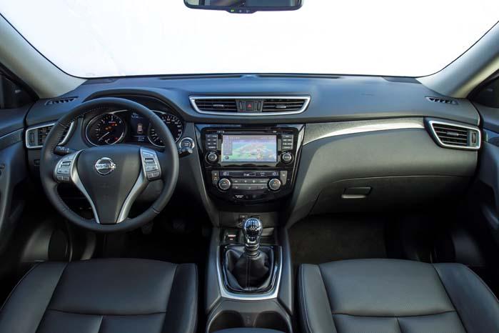 Om den nye X-Trail skal køre som personvogn eller varebil kommer ud på ét - indretningen og komforten er den samme.