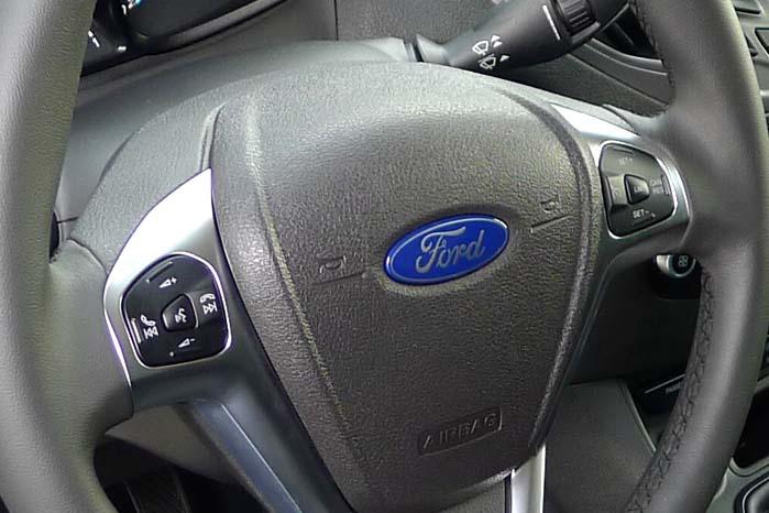 Man vil ikke kunne se forskellen, som gemmer sig i ratnavet, men det vil kunne mærkes - hævder Ford.