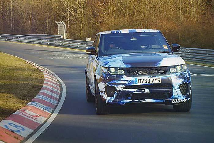 Vig til side, for her Range Rover Sport SVR!