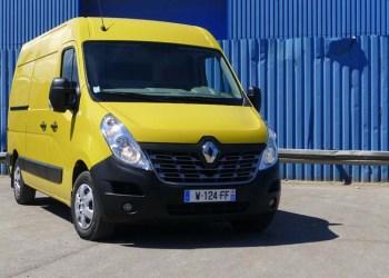 Renault Master med nyt frontdesign og flere modelvarianter.