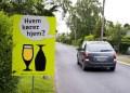 Meget tyder på, at budskabet ikke helt når ud til målgruppen. (Foto: sikkertrafik.dk)