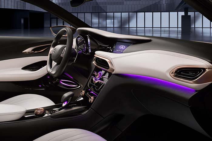 Q30 Concept er til baseret på samme platform som Mercedes-Benz A-klasse og GLA.