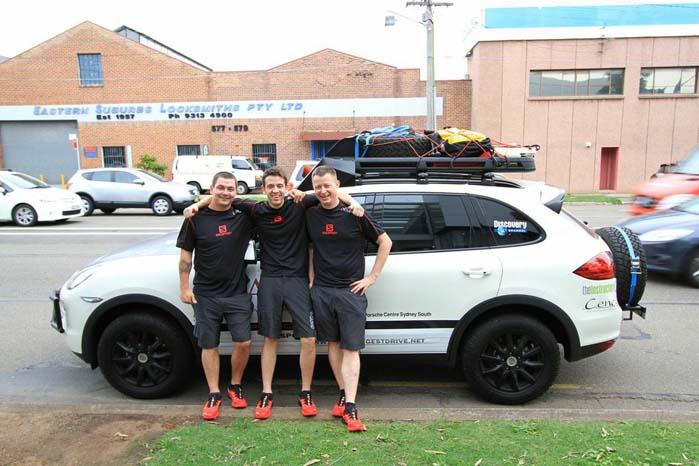 """Efter turene langs den 48° breddegrad kom """"The Big Loop"""" på det australske kontinent."""