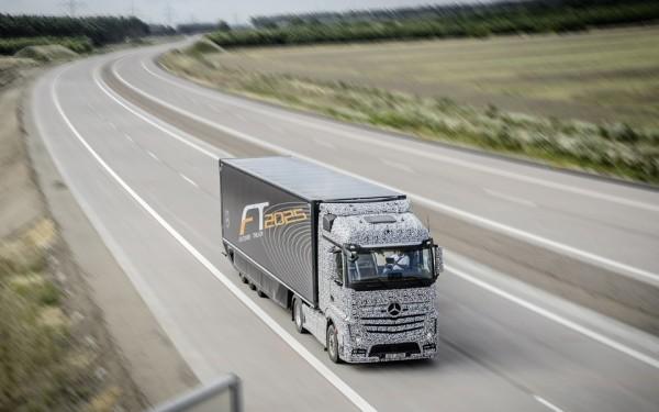 Mercedes-Benz Actros Future Truck 2025 er klar om 10 år