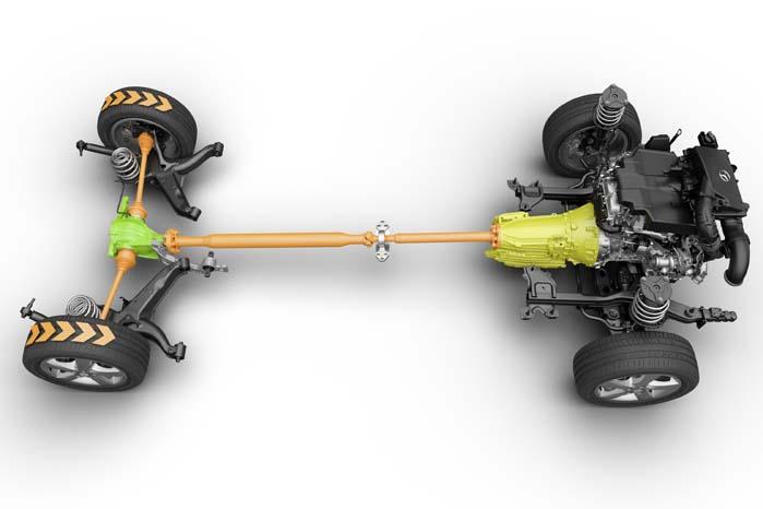 ... men den bliver også lavet med baghjulstræk!