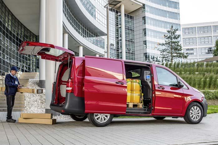 Vito-serien er Mercedes-Benz' alternativ til købere af mellemstore varebiler.
