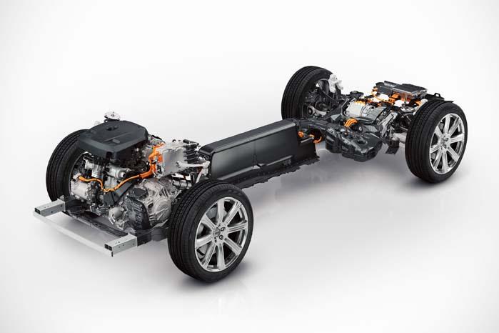 Med det fleksible SPA-chassis har Volvo-ingeniørerne frihed til flere variationer over temaet.