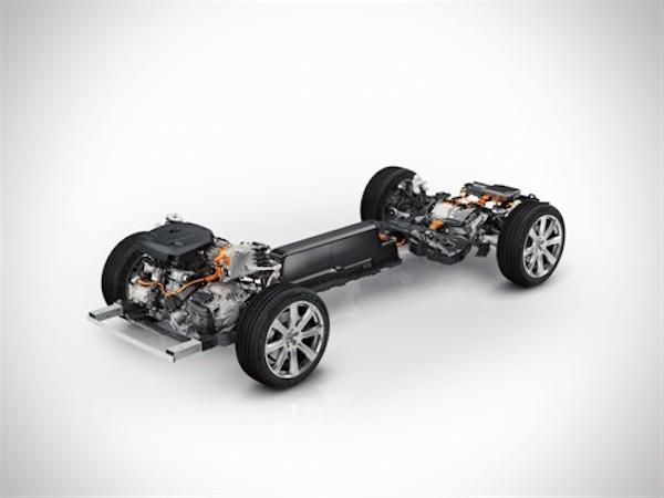 Volvos nye skalerbare chassis er grundstenen i den nye XC90 T8 hybrid SUV