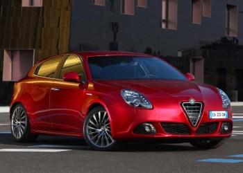Alfa Romeo Giulietta Quadrifoglio TCT er klar til gule skilte.