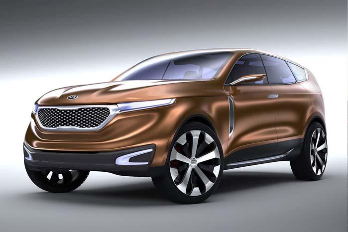 Cross GT som Kia forestillede sig den tredje Sorento-generation profileret ...