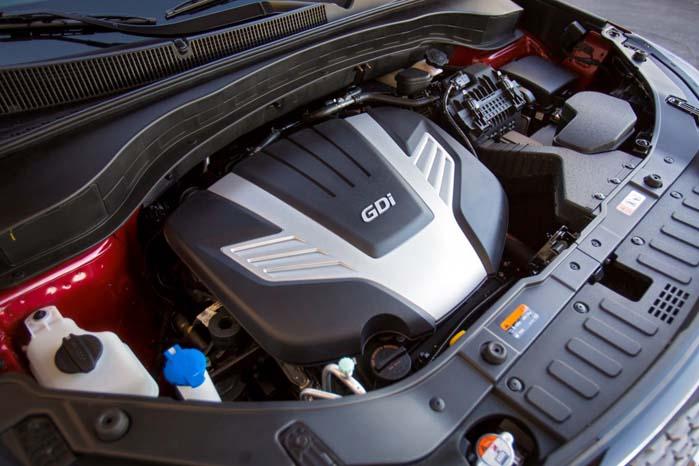 Den turboladede CRDI-motor på 2,2 liter kan godt tåle en opstramning til benefice for såvel brændstoføkonomi som CO2-udslip.