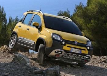 Fiat Panda kan begå sig off-road, men som varebil er den offside.