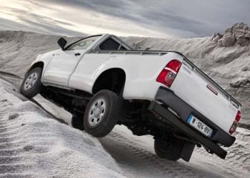 Toyota Hilux trækker fra konkurrenterne, når det gælder salget af nye pick-up modeller.