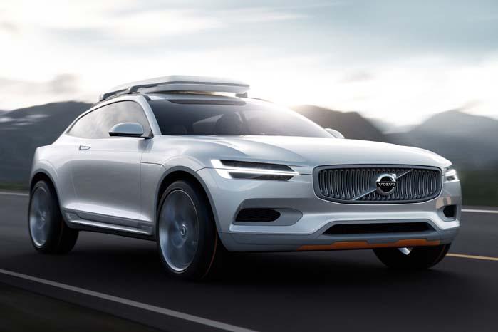 Concept XC Coupé er forløberen for den nye XC90, som nol kommer til at lægge sig relativt tæt op ad forlægget.
