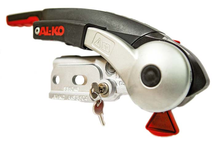 Al-ko nye træktøj med anti-slingre kobling og indbygget tyverisikring - AKS 3504.