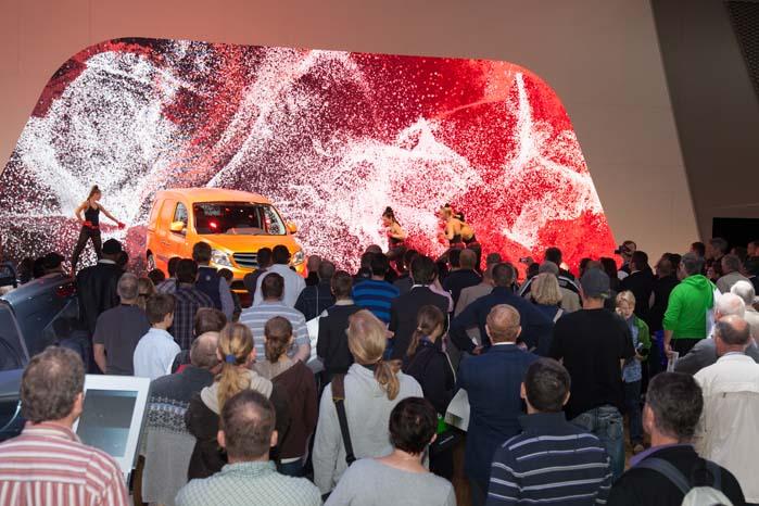 Flere end 300 verdenspremierer venter ved IAA 2014.
