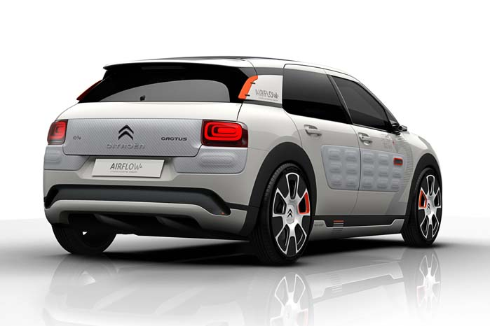 Foruden den reducerede luftmodstand har et vægttab på 100 kilo bidraget til forbedring af bilens brændstoføkonomi.
